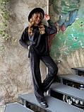 Костюм женский брючный велюровый в рубчик, фото 6