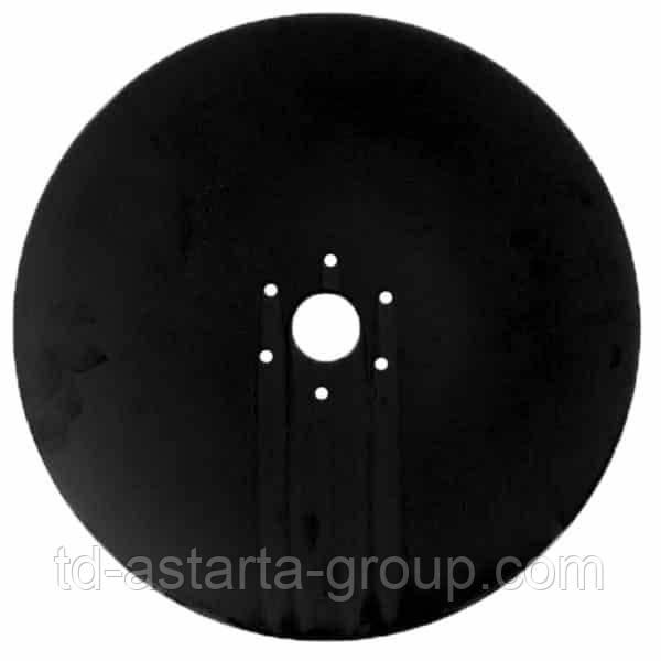 Диск плоский Horsch D=350х4мм, 6 отверстий 00310914
