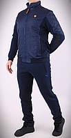 Стильный мужской спортивный костюм Puma, трехнитка на флисеТурция