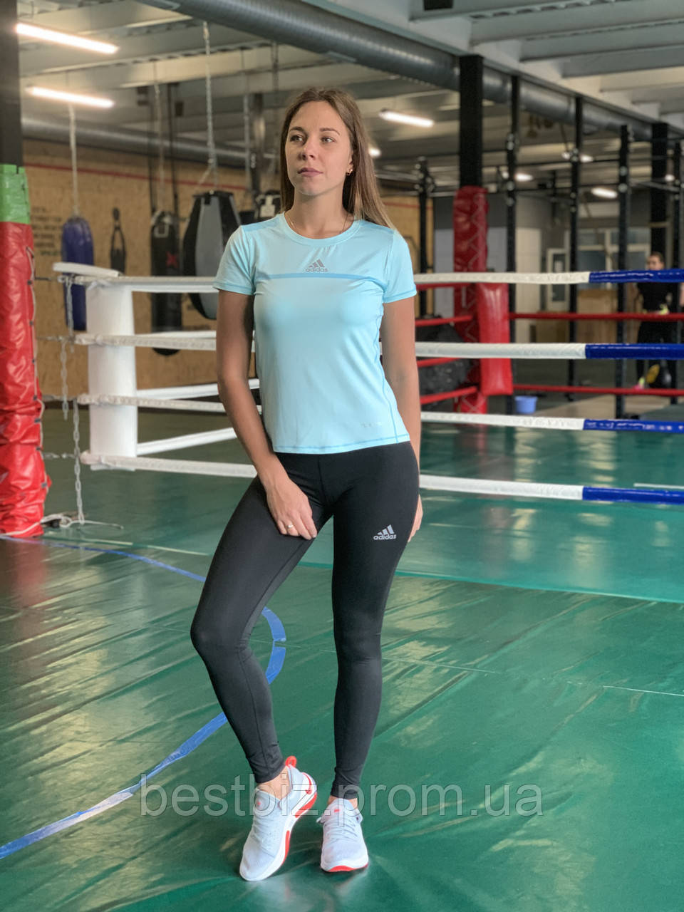 Комплект костюм спортивний компресійний жіночий Adidas Адідас (M,XL)