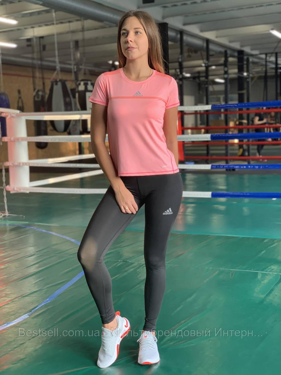 Комплект костюм спортивний компресійний жіночий Adidas Адідас (L,XL)