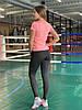 Комплект костюм спортивний компресійний жіночий Adidas Адідас (L,XL), фото 2