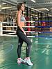 Комплект костюм спортивный компрессионный  женский Reebok Рибок (M,L), фото 4