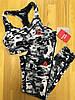 Комплект костюм спортивный компрессионный  женский Reebok Рибок (L последний размер), фото 5