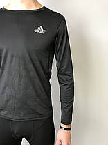 Кофта спортивна компресійна чоловіча Adidas Адідас (S,M, L,XL), фото 3