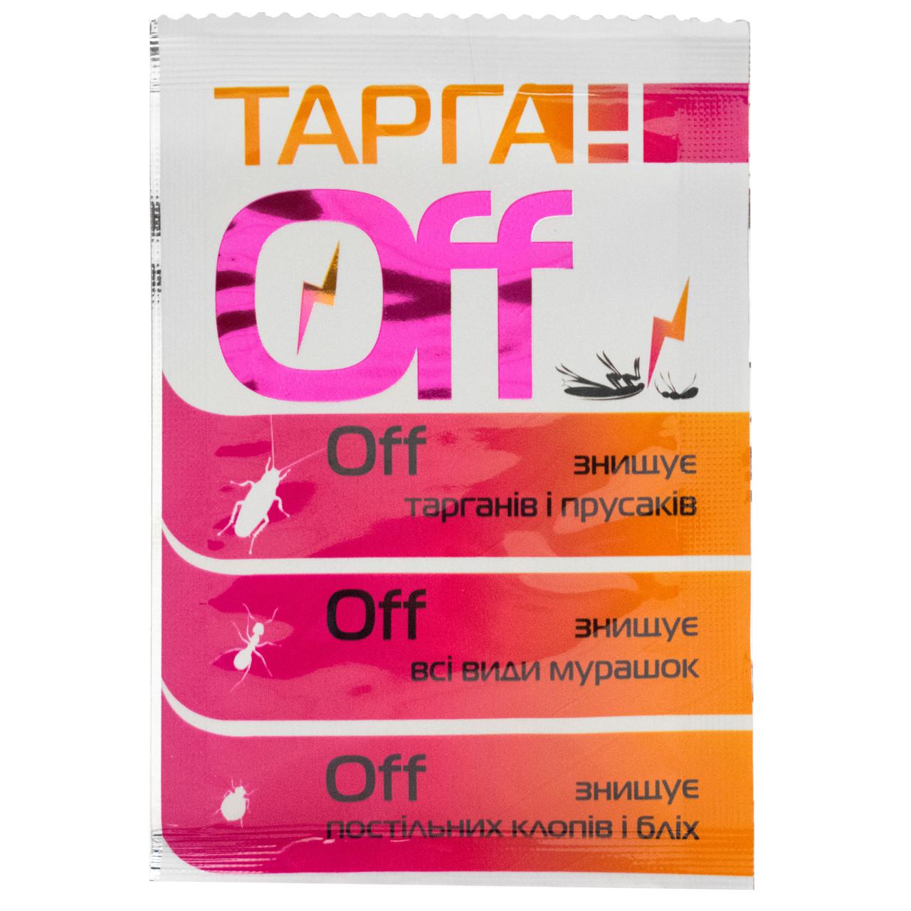 Порошок от бытовых насекомых Тарган OFF 2 г