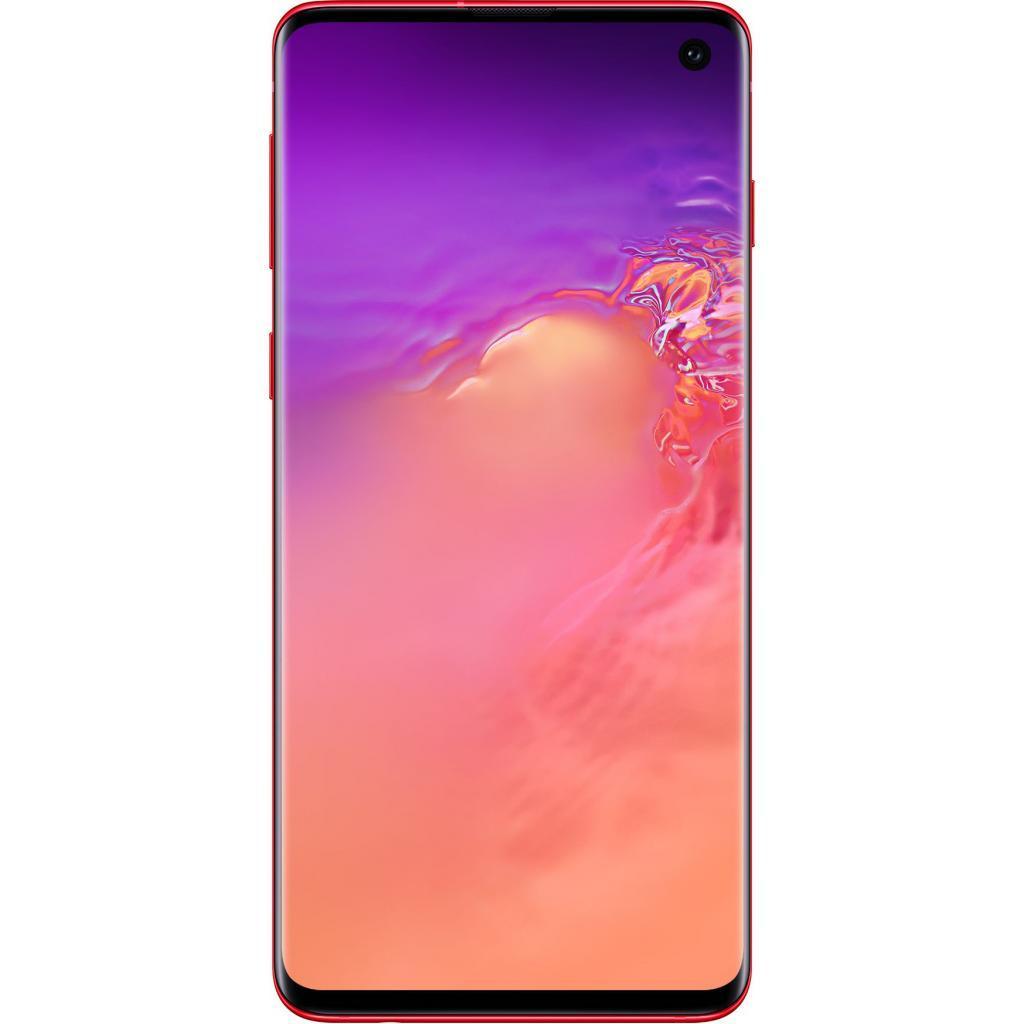 Мобильный телефон Samsung SM-G973F/128 (Galaxy S10) Red (SM-G973FZRDSEK)