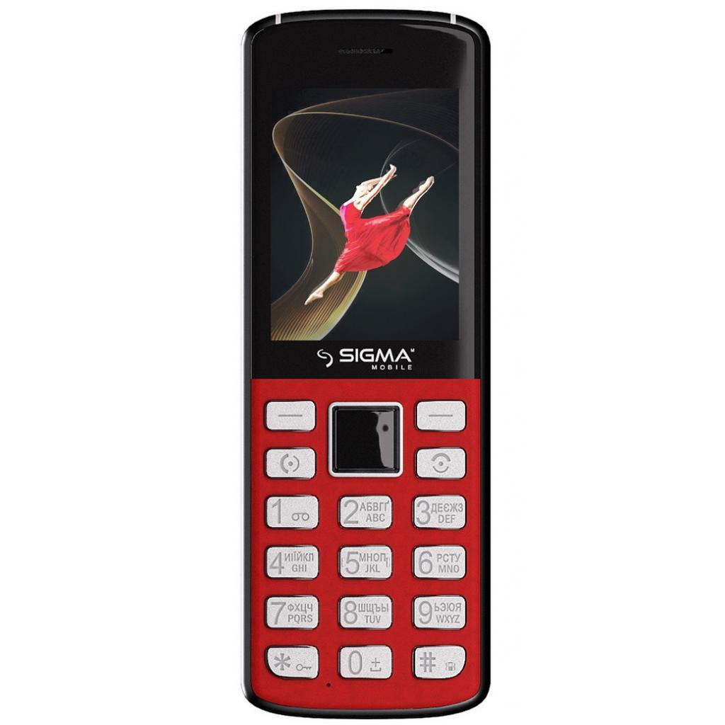 Мобильный телефон Sigma X-style 24 Onyx Red (4827798324622)