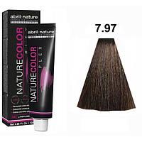 Безаміачна крем-фарба для волосся Abril et Nature Nature Color Plex 7.97 Русявий коричневий фіолетовий 120 мл