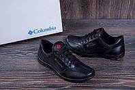 Мужские кожаные кроссовки, спортивные мужские туфли кожа