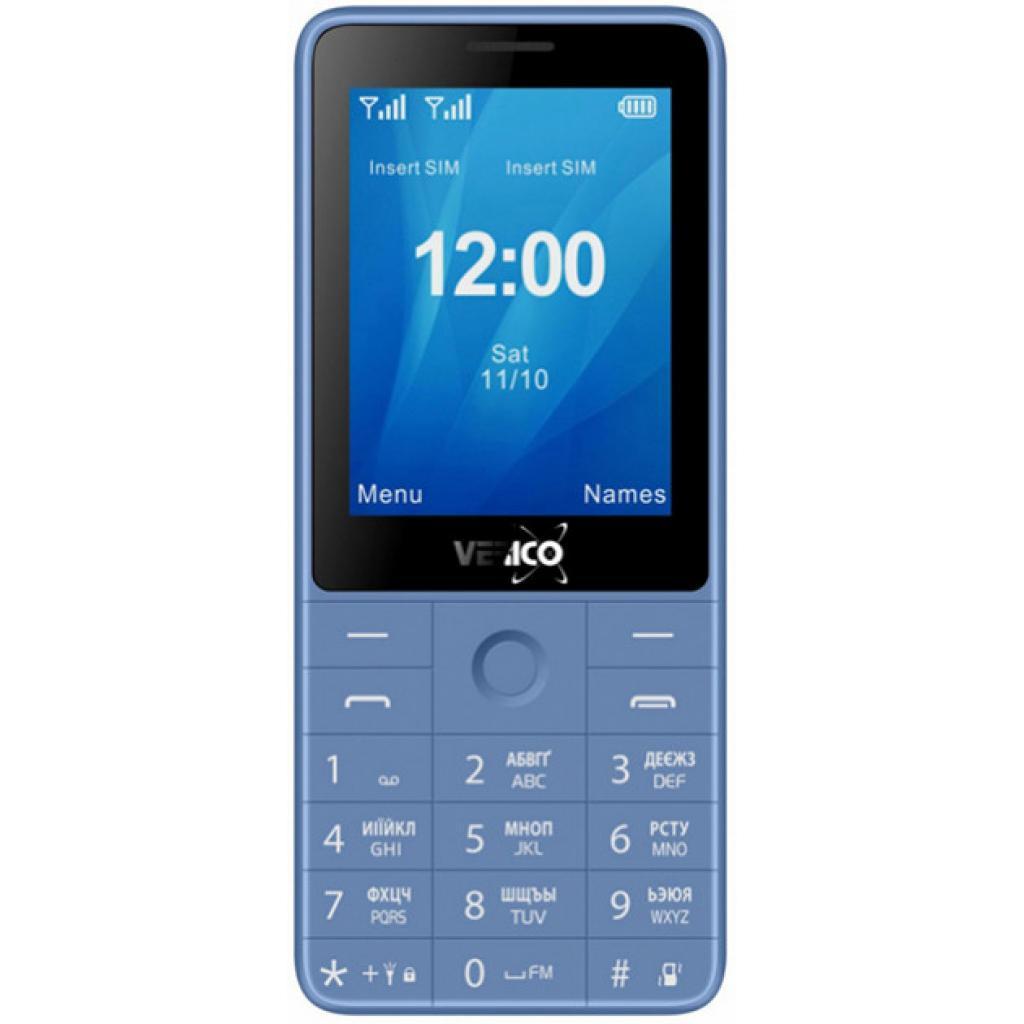Мобильный телефон Verico Qin S282 Blue (4713095606755)