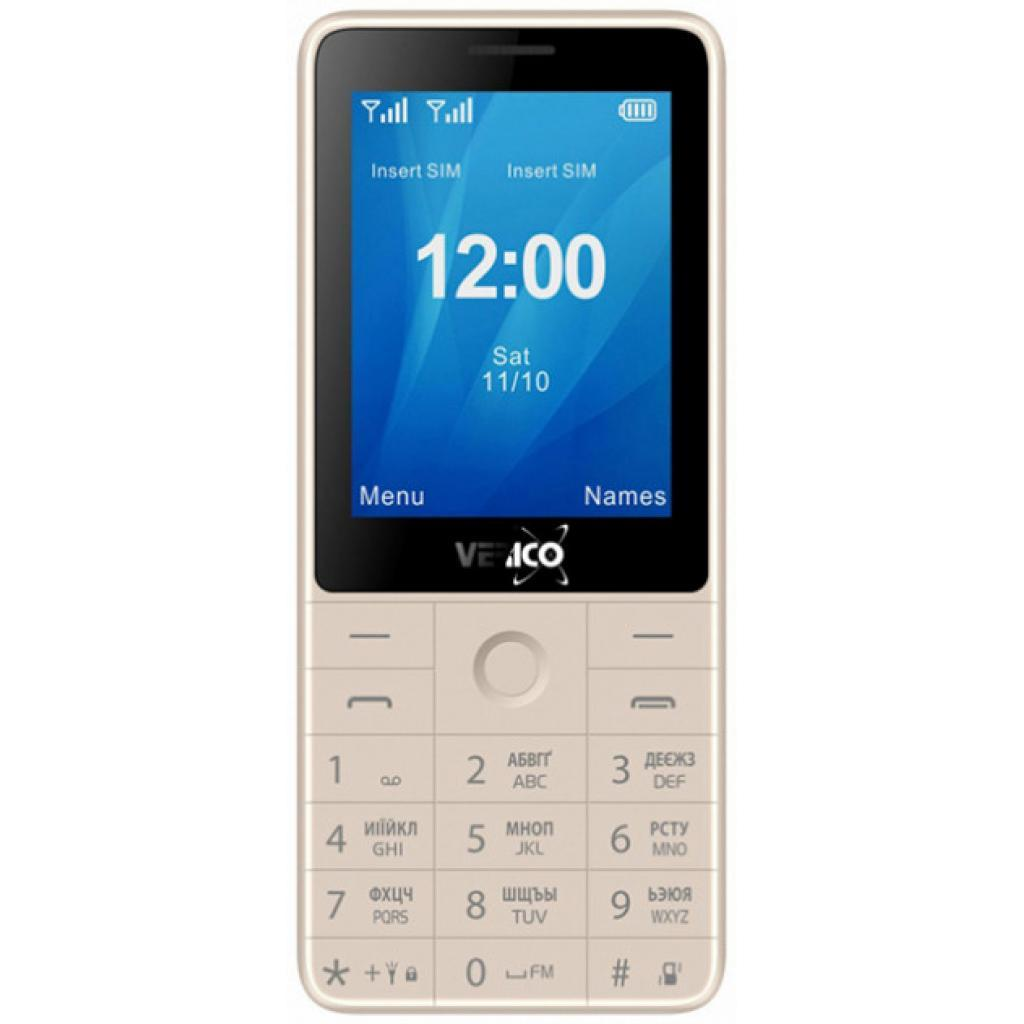 Мобильный телефон Verico Qin S282 Gold (4713095606762)