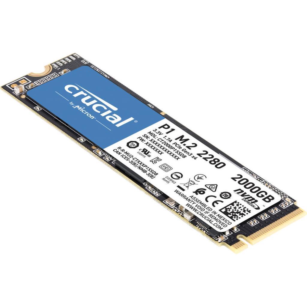 Накопитель SSD M.2 2280 2TB MICRON (CT2000P1SSD8)