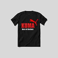 "Женская футболка с принтом ""Kuma best of the best"" Push IT"