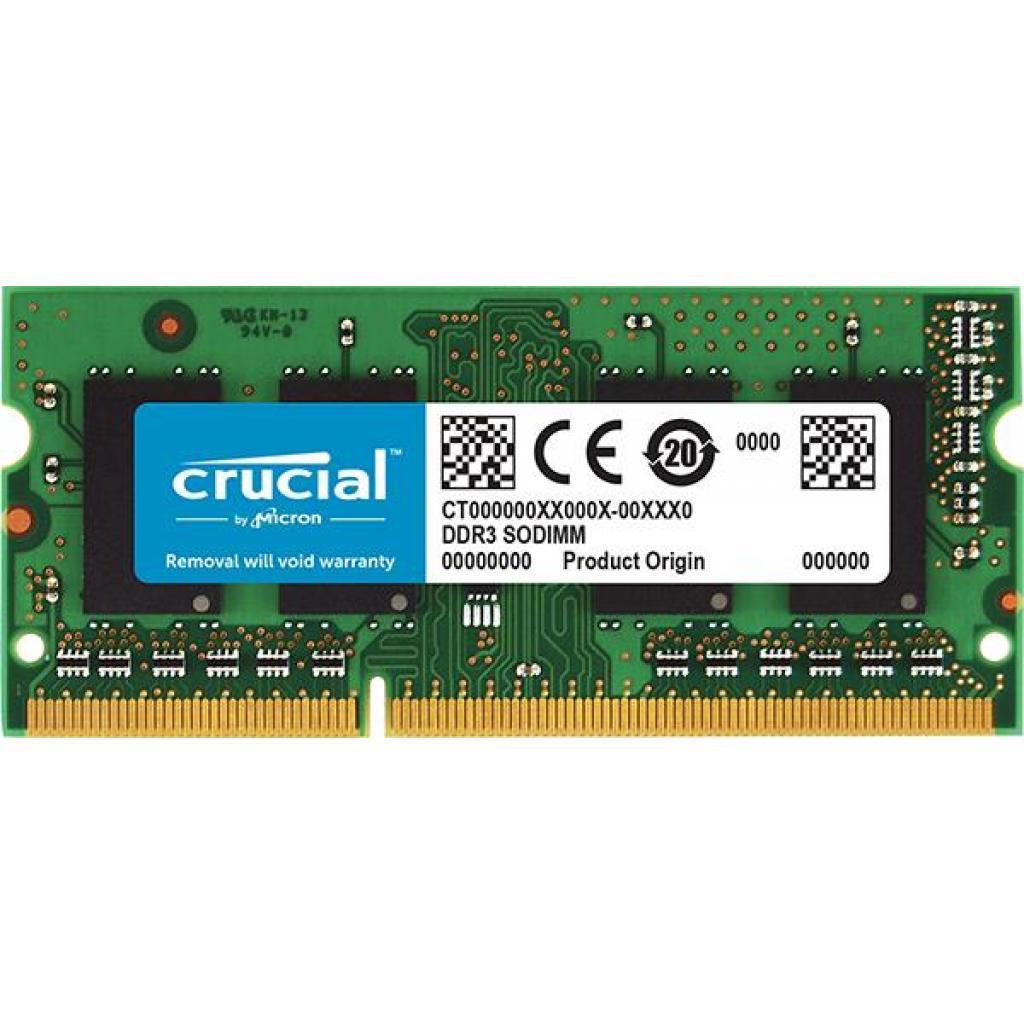 Модуль памяти для ноутбука SoDIMM DDR3 4GB 1866 MHz MICRON (CT51264BF186DJ)