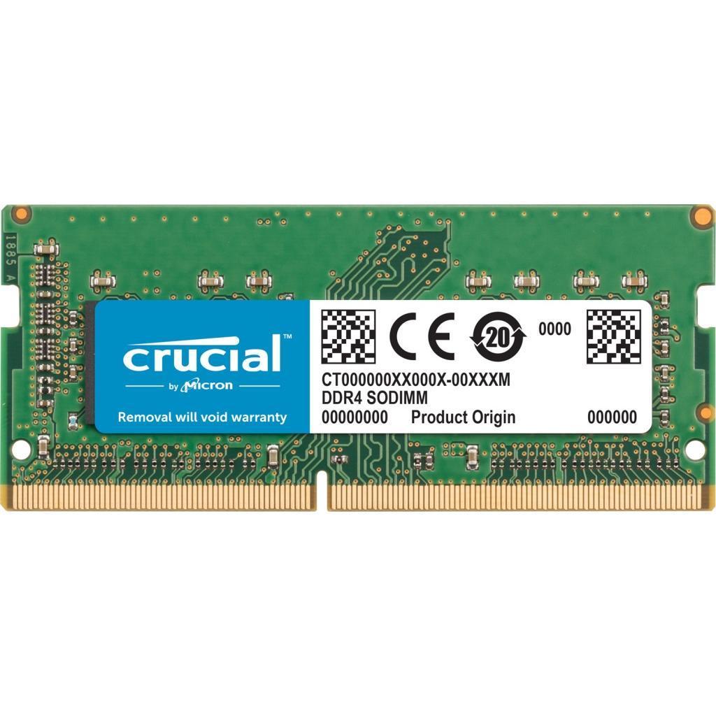 Модуль памяти для ноутбука SoDIMM DDR4 8GB 2666 MHz MICRON (CT8G4S266M)