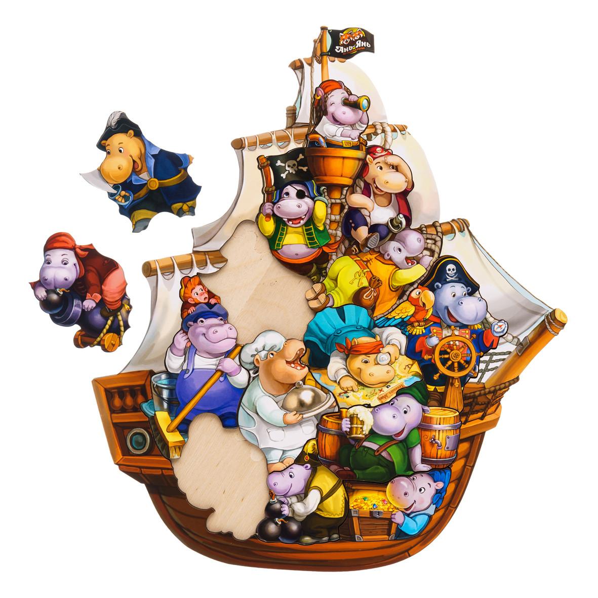 Вкладыш: Бегемотики - пираты