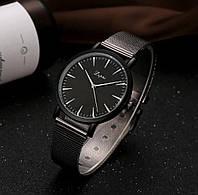 Женские часы черный циферблат, фото 1