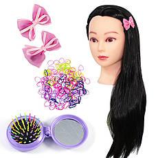 Набір для зачісок з гумками, шпильками і гребінцем для волосся