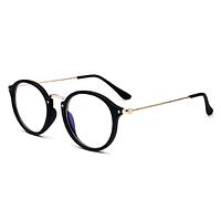 Имидж очки для компьютера и смартфона глянцевые в черной оправе