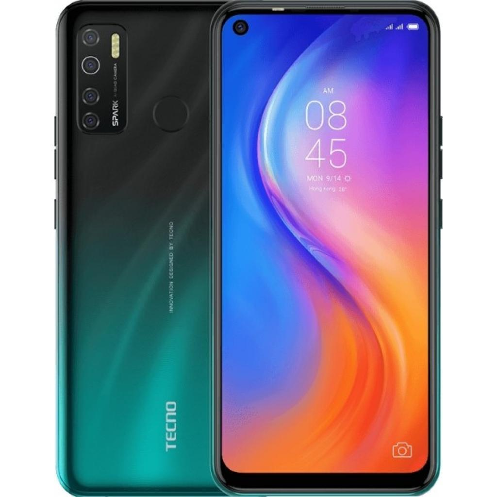 Мобильный телефон TECNO KD7 (Spark 5 Pro 4/128Gb) Ice Jadeite (4895180760297)