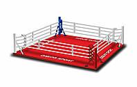 Боксерский ринг Ковер 5,5*5,5м, канаты 4,5м., фото 1