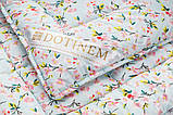 Одеяло 145х210 Зимнее  RIVERTON (Ривертон) полиэфирное волокно, полуторное, легкое, практичное, полиэстер, фото 2