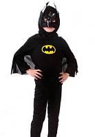 Маскарадный костюм Batman Бэтмен черный (размер S)