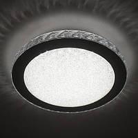 Потолочный светодиодный светильник LUMINARIA SIYANIE 25W R350 CHROME/CRYSTAL IP20 4000K, фото 1