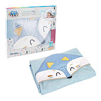 Полотенце с капюшоном для младенцев 100x100см ЛИСА, Canpol babies