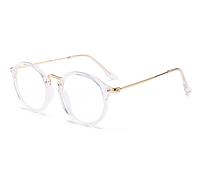 Имидж очки для компьютера матовые черные в прозрачной оправе
