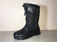 Cапоги ЭВА, Обувь EVA, зимние ботинки ПВХ, валенки Alaska серые, зимняя обувь из пенки, сноубутсы EVA, Аляска, фото 1