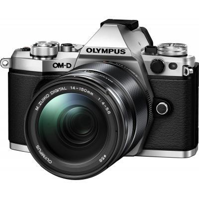 Цифровой фотоаппарат OLYMPUS E-M5 mark II 14-150 II Kit silver/black (V207043SE000)
