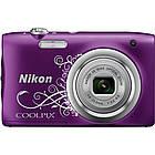 Цифровой фотоаппарат Nikon Coolpix A100 Purple Lineart (VNA974E1), фото 2