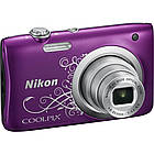 Цифровой фотоаппарат Nikon Coolpix A100 Purple Lineart (VNA974E1), фото 3
