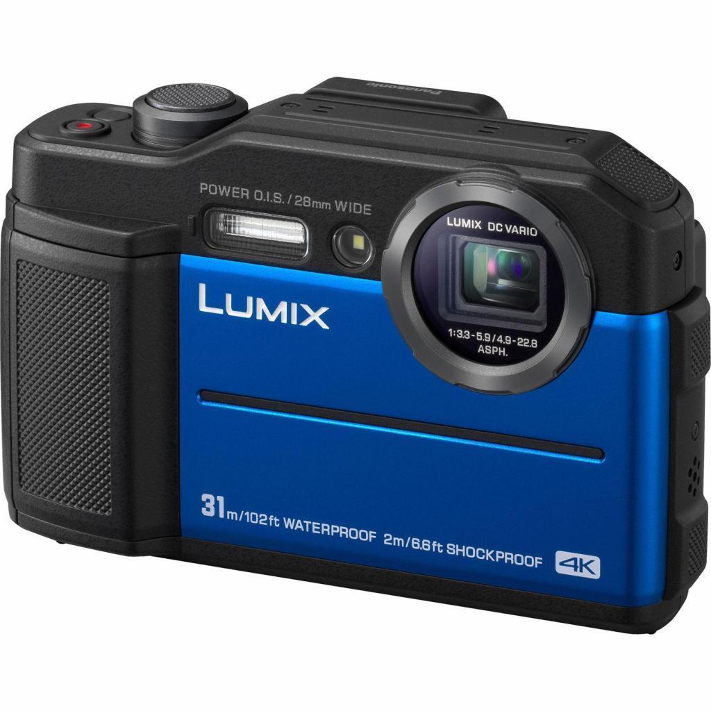 Цифровой фотоаппарат PANASONIC LUMIX DC-FT7EE-A Blue (DC-FT7EE-A)