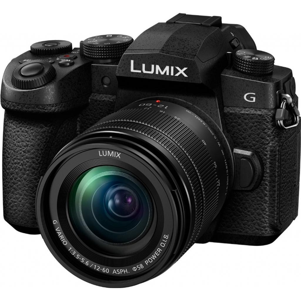 Цифровой фотоаппарат PANASONIC DC-G90 Kit 12-60mm Black (DC-G90MEE-K)