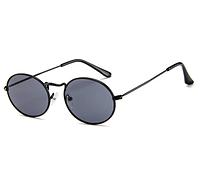 Солнцезащитные очки с маленьким круглым обрамлением солнцезащитные очки мужские и женские овальные узкие очки