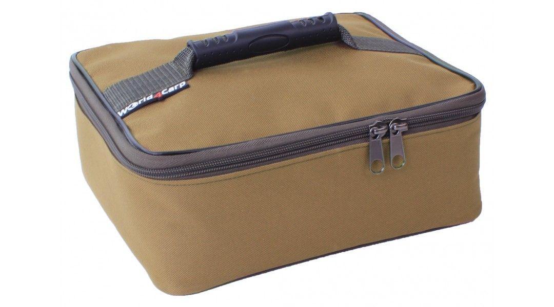 Сумка для насадок, сумка для бойлов, сумка Wold4Carp BAIT BOX (З банками) Coyote