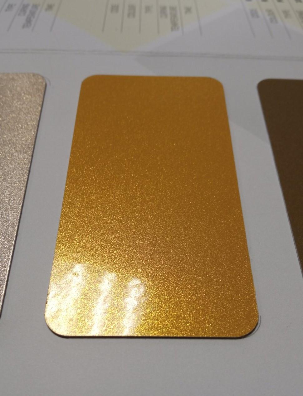 """Порошковая полиэфирная краска Metallic GOLD S228 Глянец """"ETIKA""""  (Турция)"""