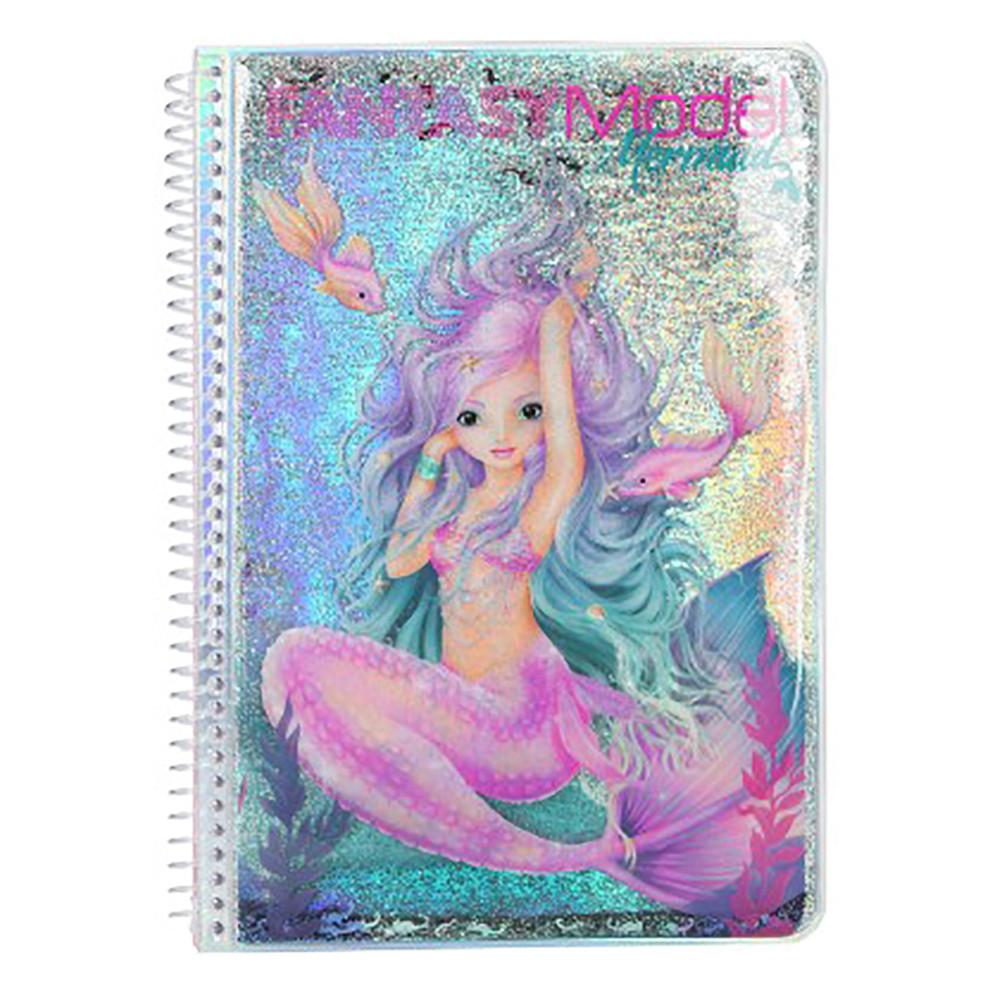 """Альбом для розфарбовування """"Русалонька"""" Fantasy Model (4010070400996)"""