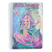 """Альбом для розфарбовування """"Русалонька"""" Fantasy Model (4010070400996), фото 1"""