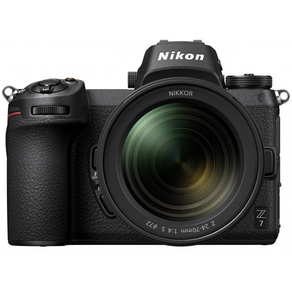 Цифровой фотоаппарат Nikon Z 7 + 24-70mm f4 + FTZ Adapter +64Gb XQD Kit (VOA010K008)