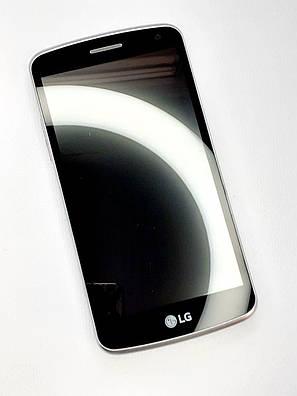 Модульный дисплей черный LG K5 X220 оригинал , разборка, фото 2