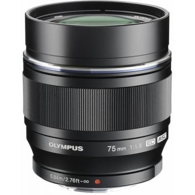 Объектив OLYMPUS ET-M7518 75mm 11.8 Black (V311040BE000)
