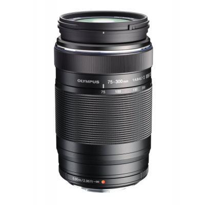 Объектив OLYMPUS EZ-M7530 ED 75-300mm 14.8-6.7 II Black (V315040BE000)