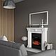 Современный пристенный каминокомплект ArtiFlame GLORY AF23 режим 3D имитации пламени и обогрева, фото 2