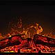 Современный пристенный каминокомплект ArtiFlame GLORY AF23 режим 3D имитации пламени и обогрева, фото 5