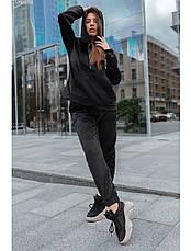 Женский спортивный костюм Staff velour black XS, фото 2