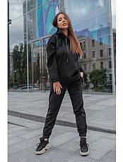 Женский спортивный костюм Staff velour black XS, фото 3